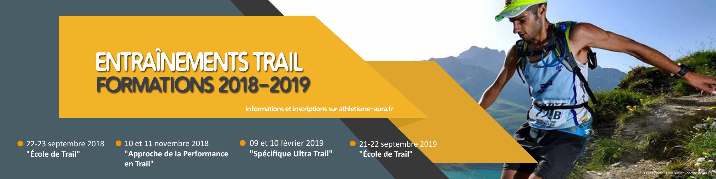 Calendrier Trail Auvergne.Formation Entrainement Trail A Chacun Son Athle