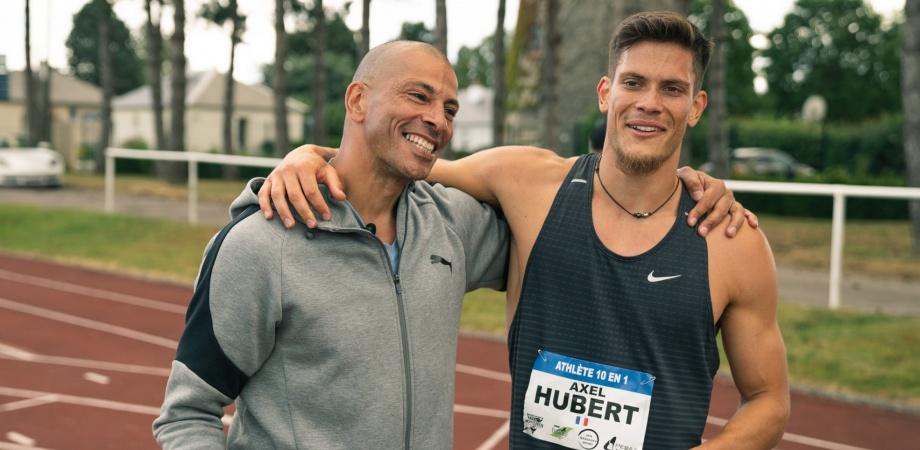 Décathlon – En solo, Axel Hubert (AS Aix) a signé un nouveau record prometteur