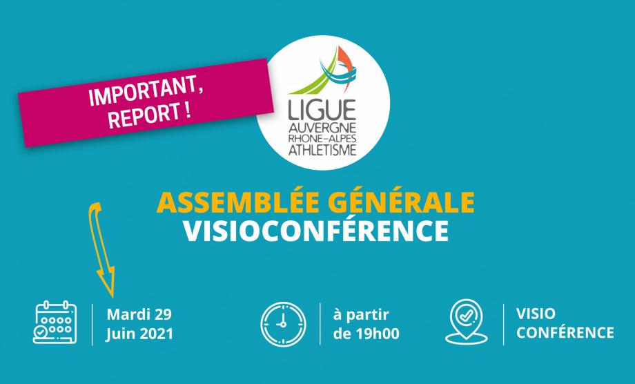 REPORT ASSEMBLÉE GÉNÉRALE DU 04 JUIN AU 29 JUIN